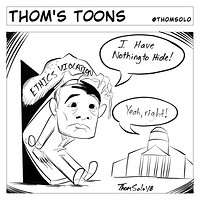 Artstation Friday The 13th Satire Comic Strip Thom Solo