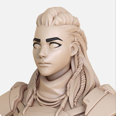 Aloy/Overwatch - High Poly