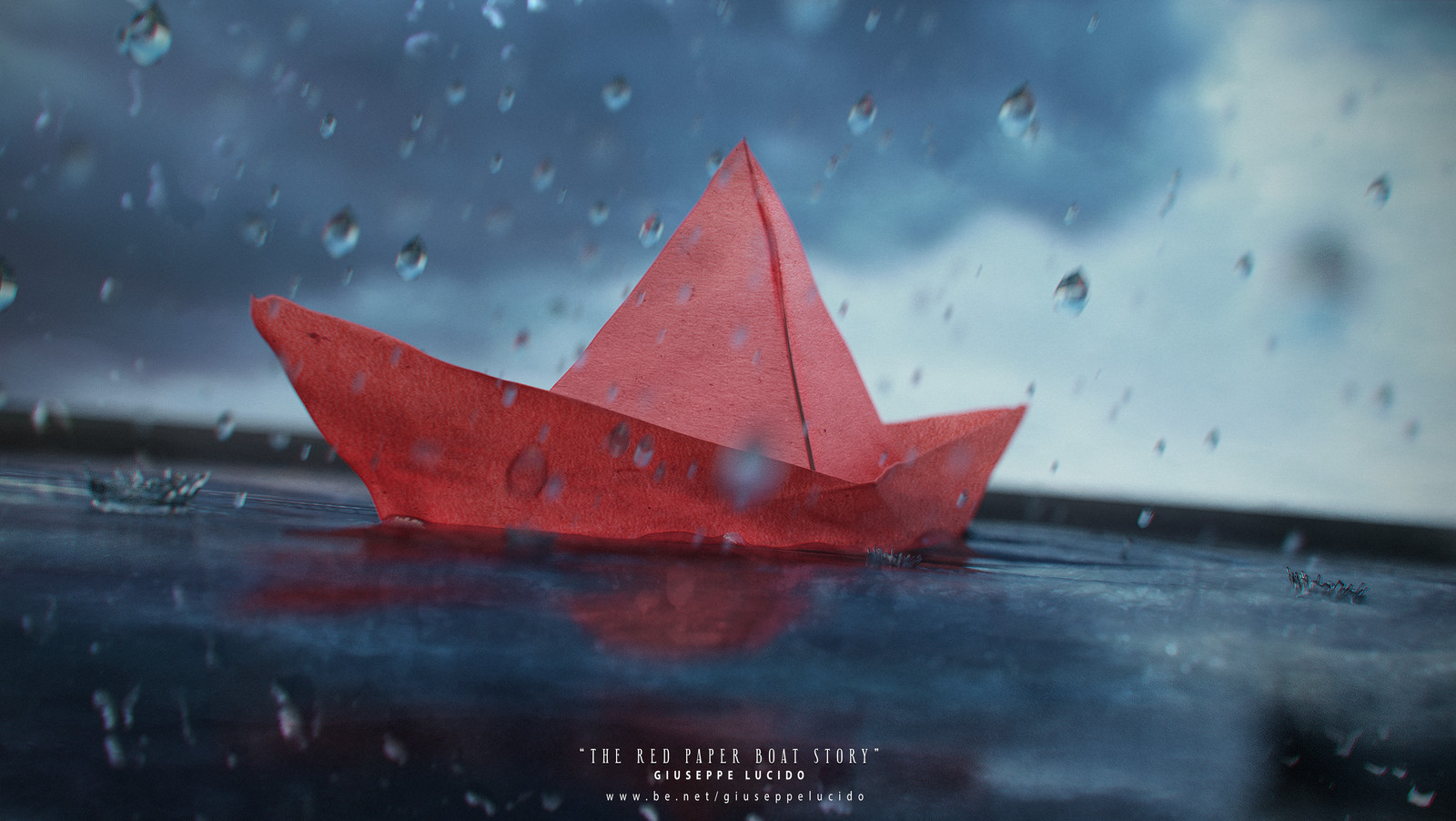 The Red Paper Boat Story