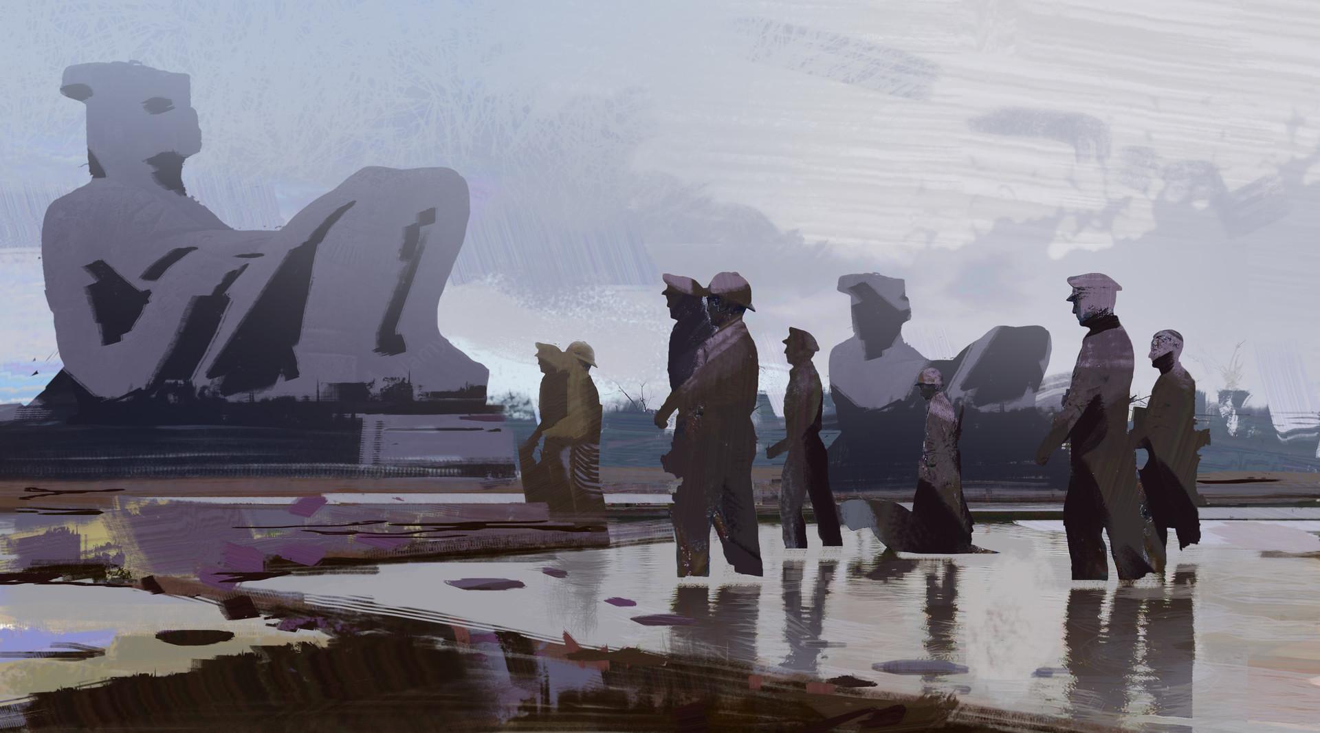 Yujin choo revolutionary totem 01 sketch