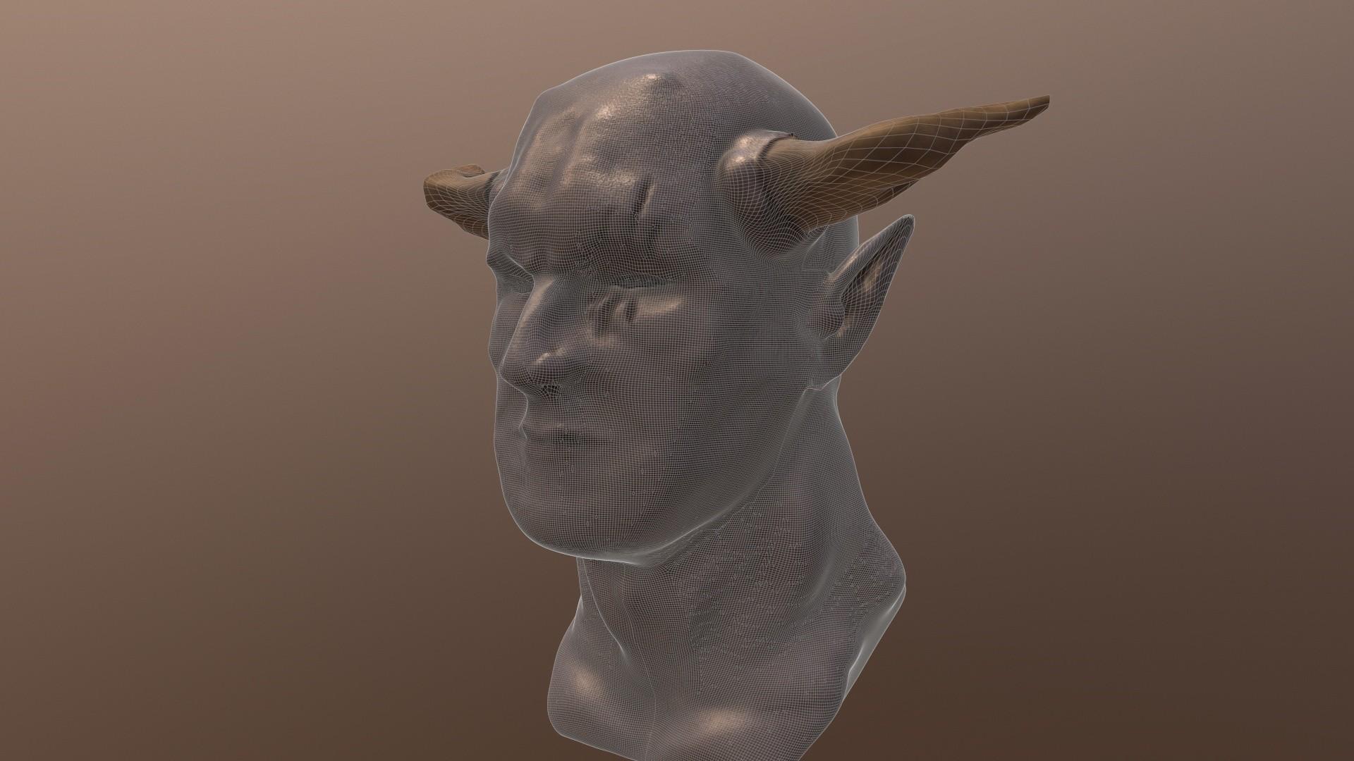 Demon Wireframe