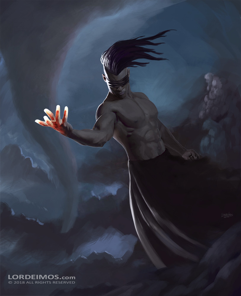 Achilles patsiatzis in the darkness light