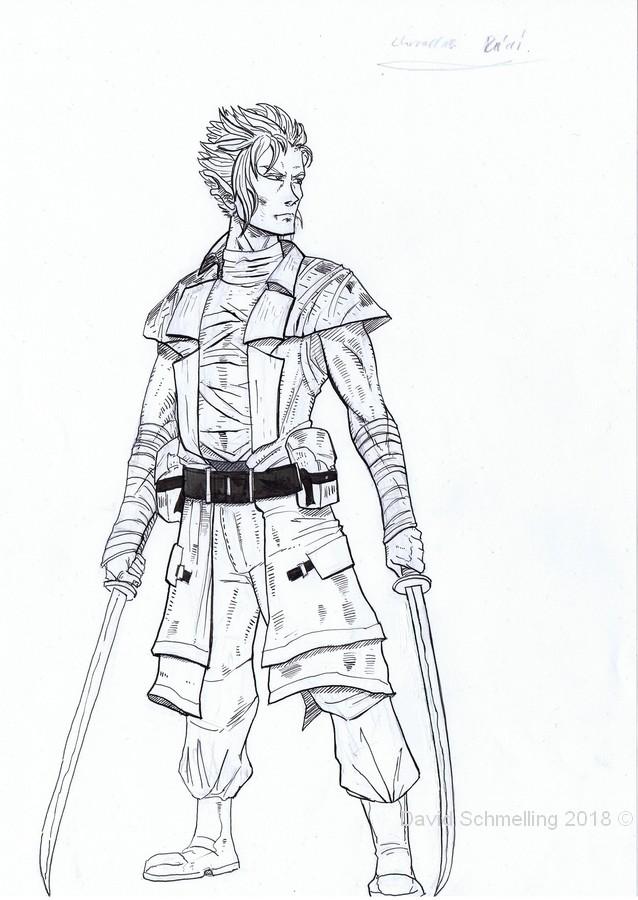 Swordfighter (inks)