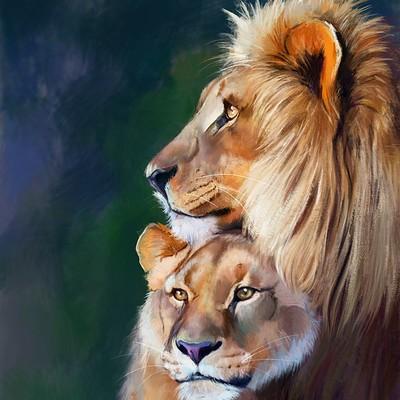 Hanaa medhat lion