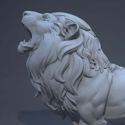 Ronald kury lion2