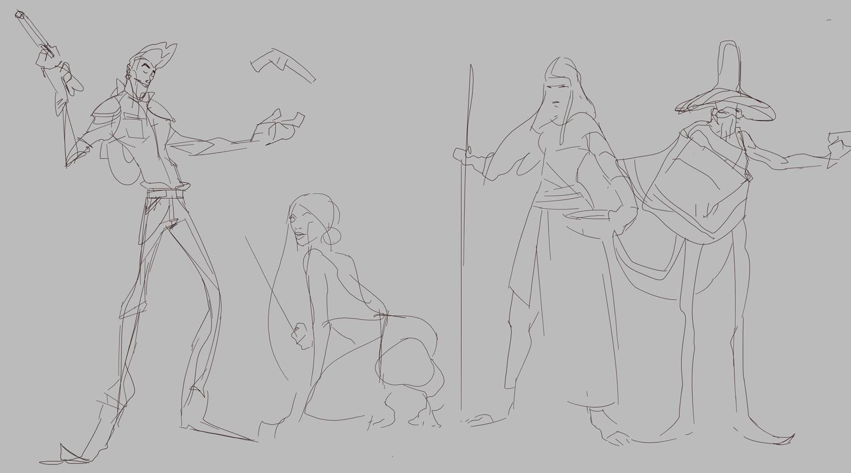Rough sketch 3