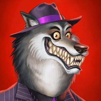 Michael dashow werewolf 04 681x1100 signed