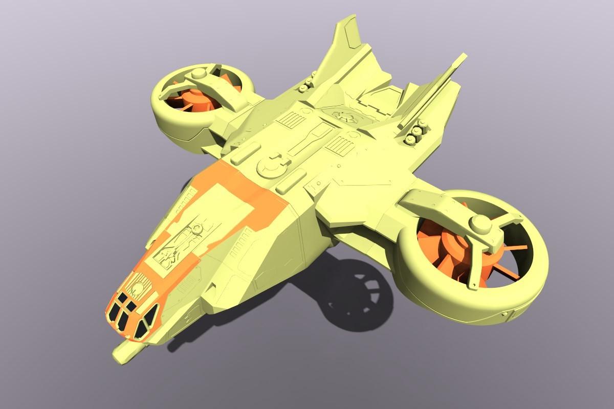 German impache hover airone 4