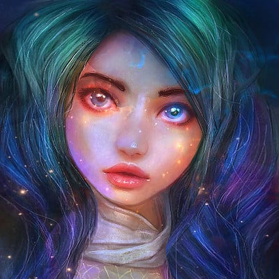 Galaxy Mermaid (Re Uploaded)