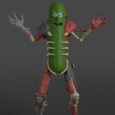 Jan enri arquero pickle rick