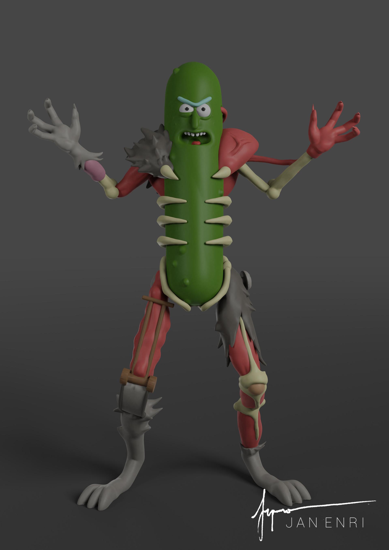 Jan enri arquero pickle rick