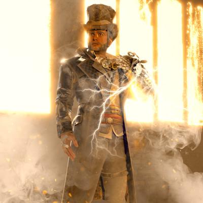 Jan enri arquero steampunk min