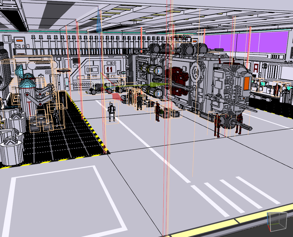 Hangar Composition