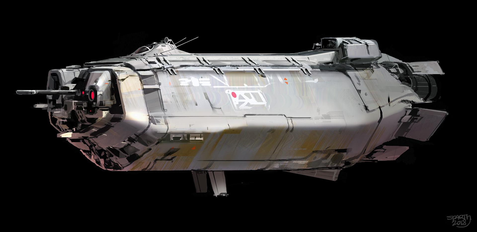 Sparth spaceship profile study final small