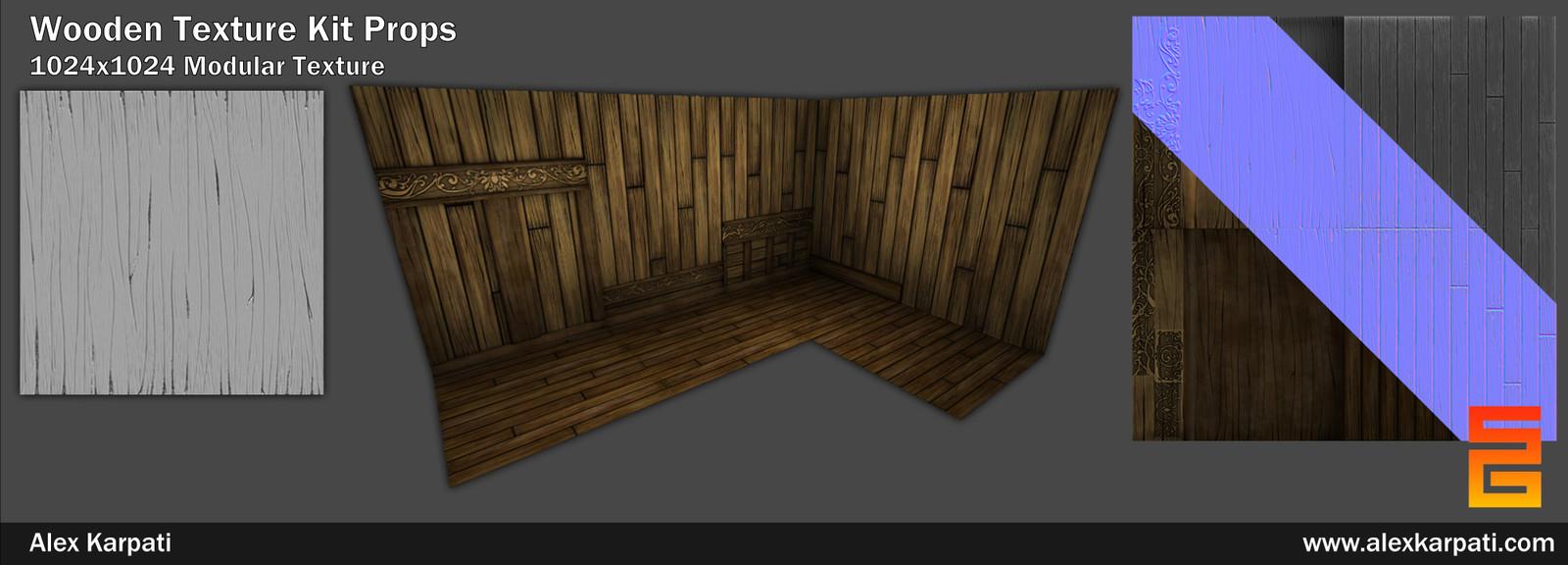 Wood Texture Kit