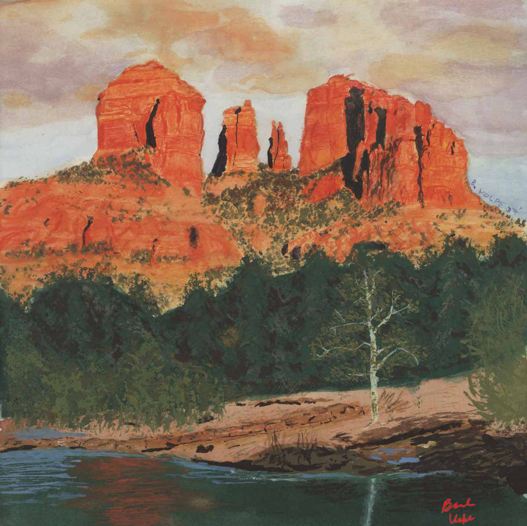 Red Rock Painting