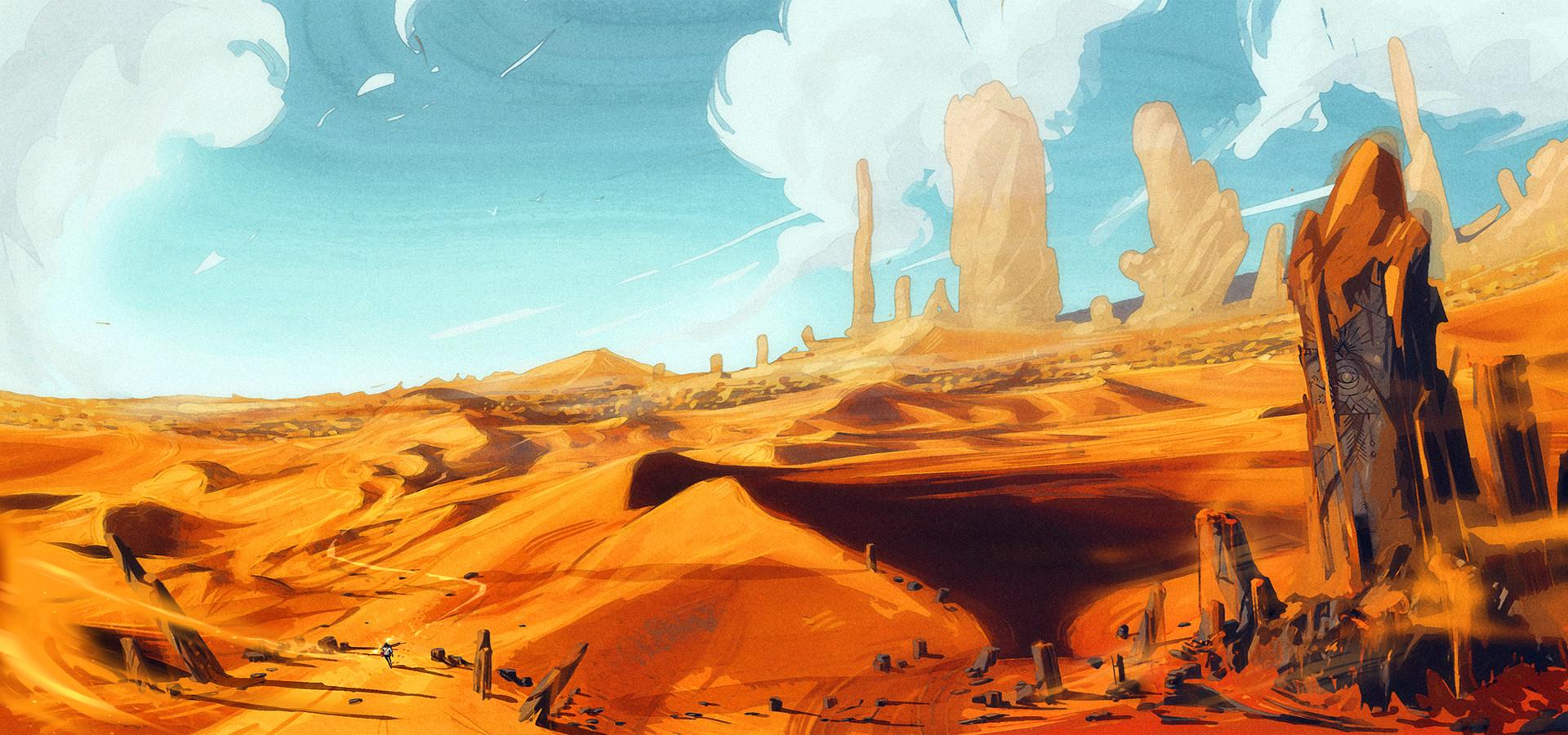 Inspired in the Peru Deserts