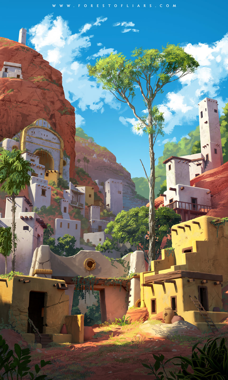 Forest of Liars : The forgotten city