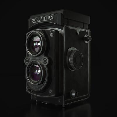 Rolleiflex Analog Camera
