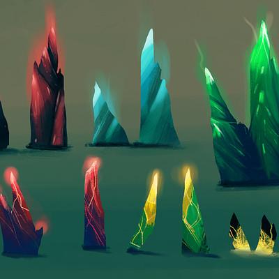 Maciej ptasinski crystals