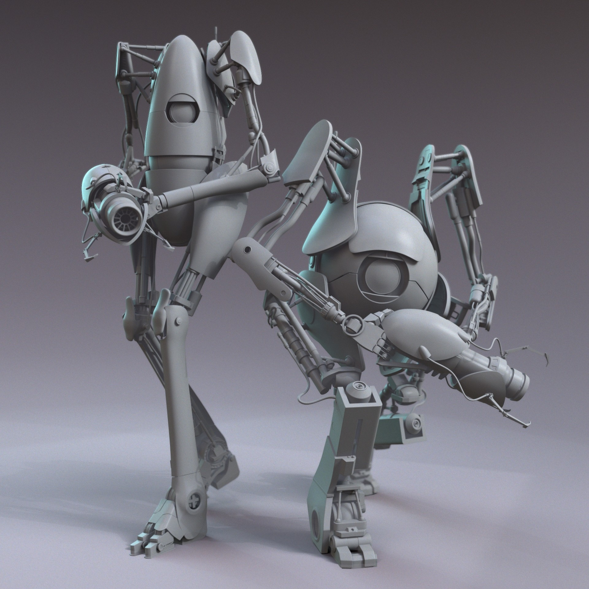Crystal bretz teampose grey v001