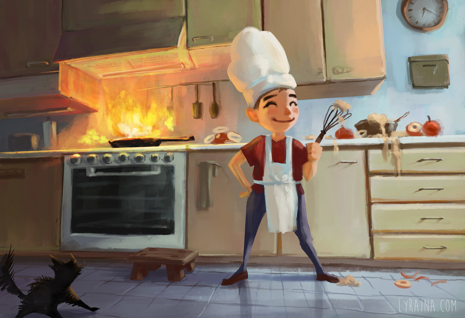 Little Chef (true story!)