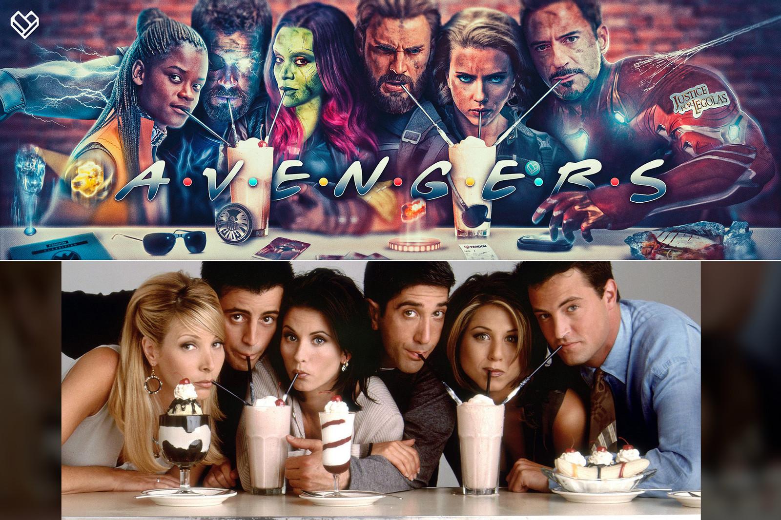 Avengers meets Friends