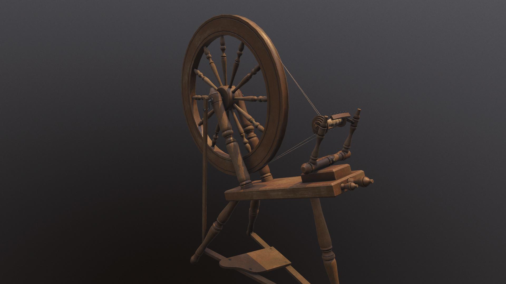 ArtStation - Spinning Wheel, Dragon Motion