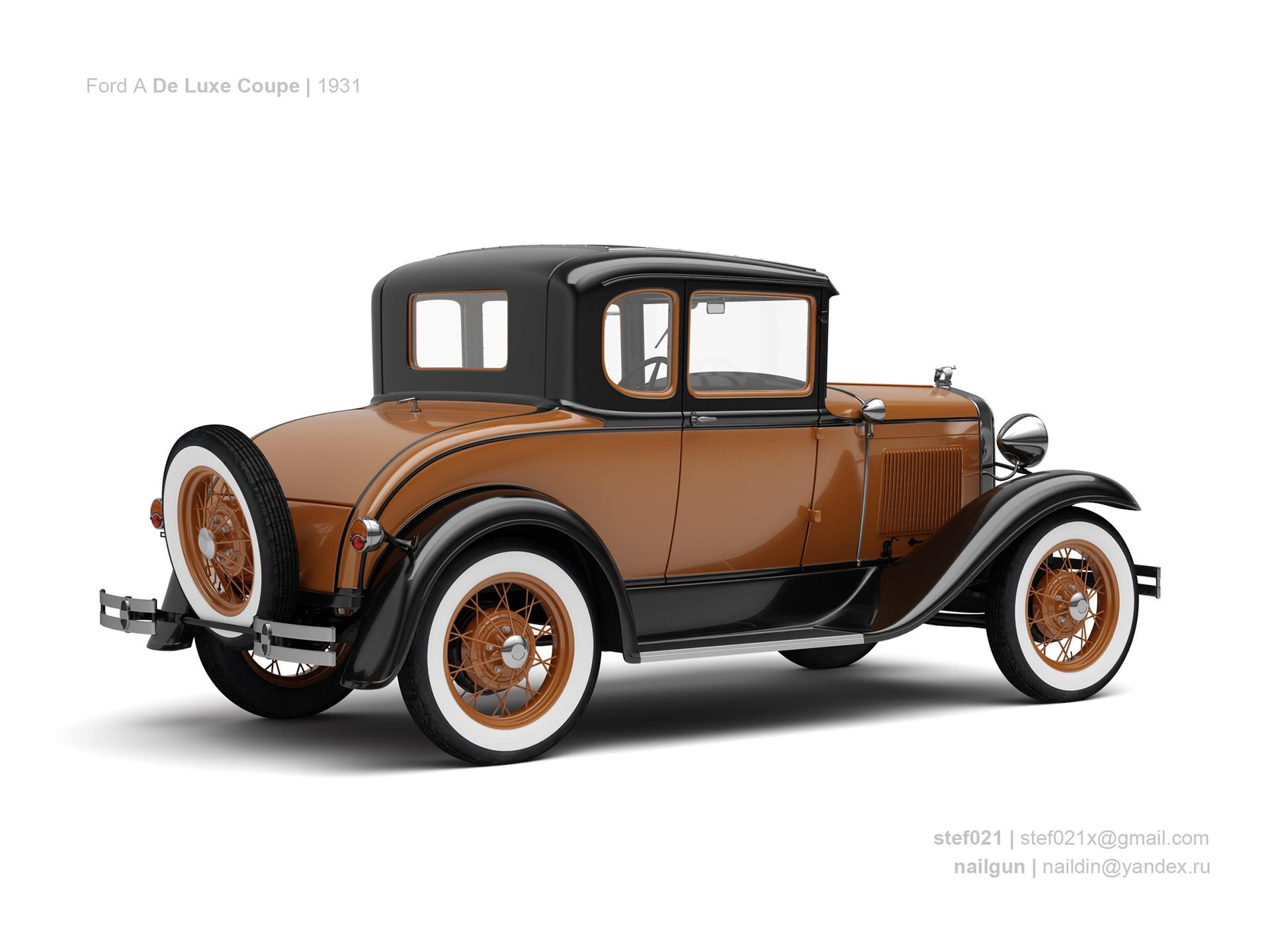 Nail khusnutdinov usa ford a de luxe coupe 1931 1