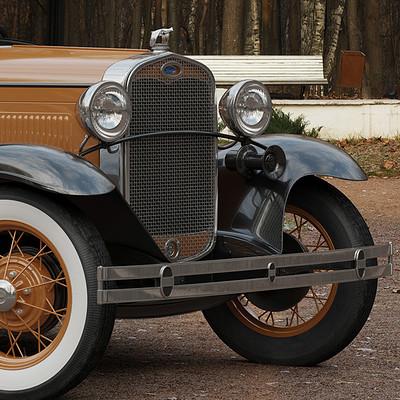 Nail khusnutdinov a0008 ford a de luxe 1931 render