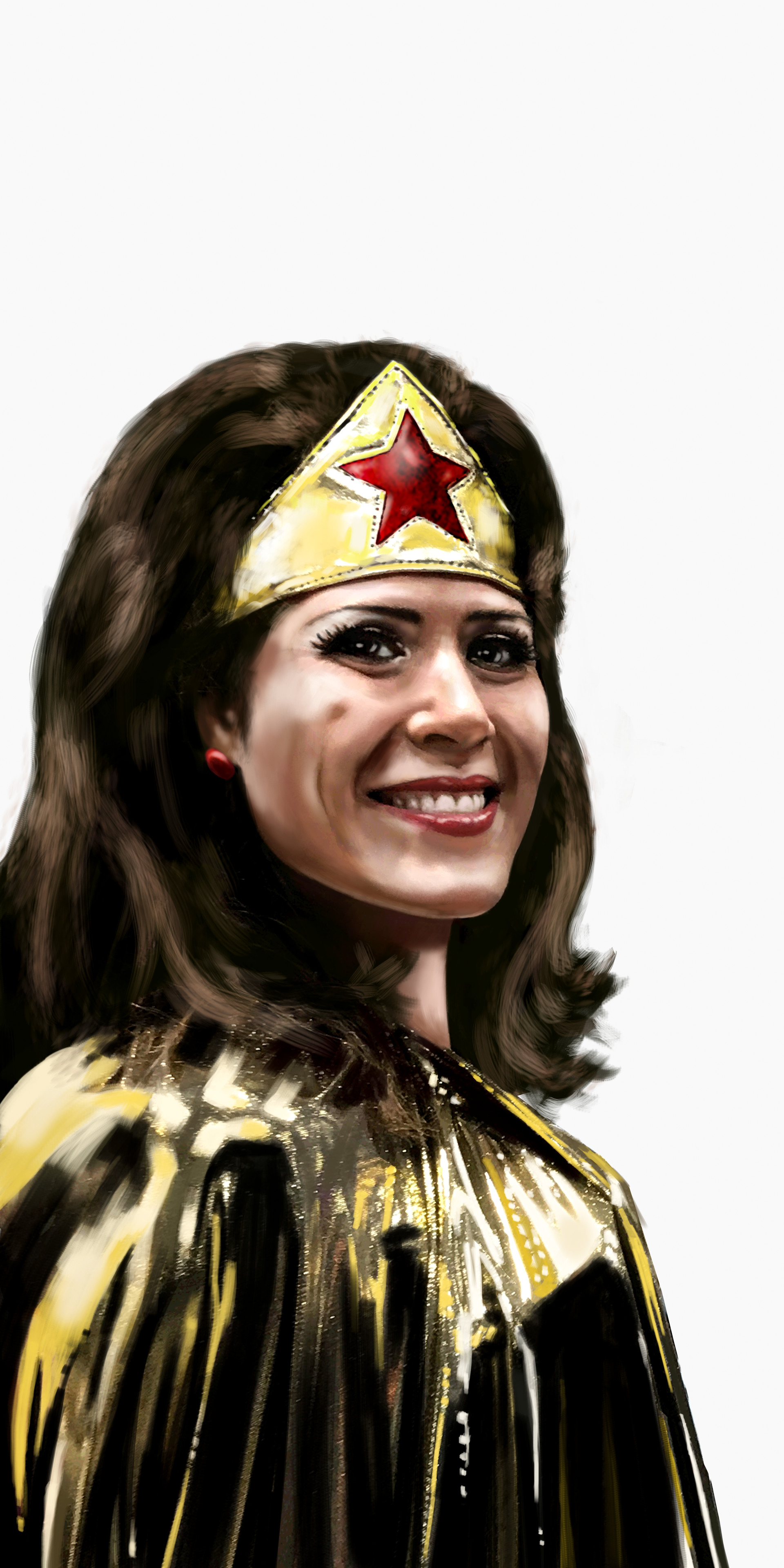Wonder Woman portrait 3