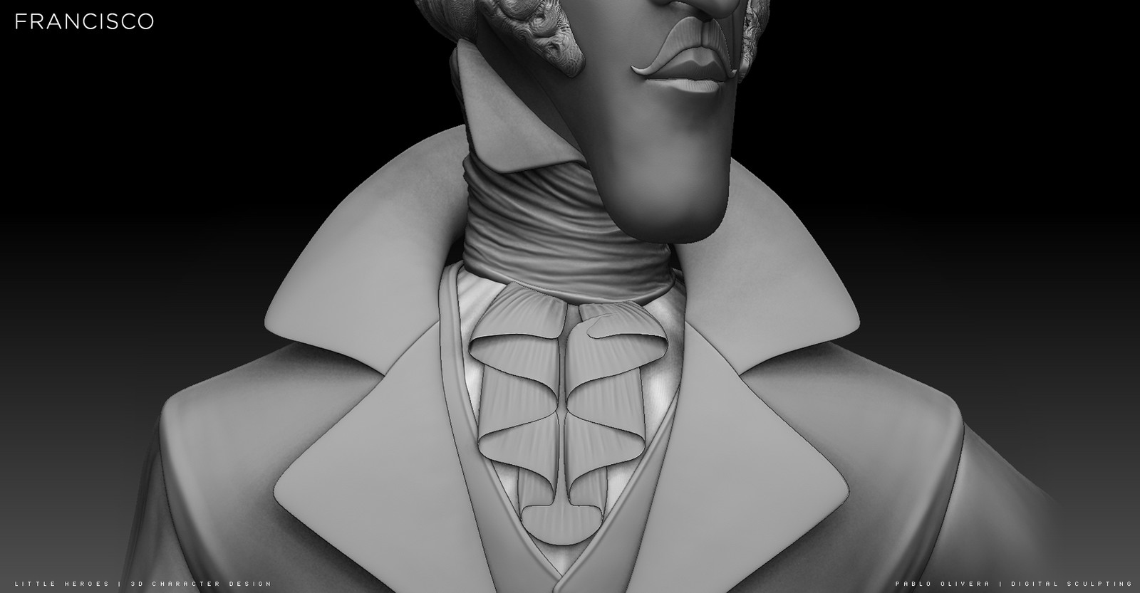 Francisco ( 3D Sculpting Zbrush)