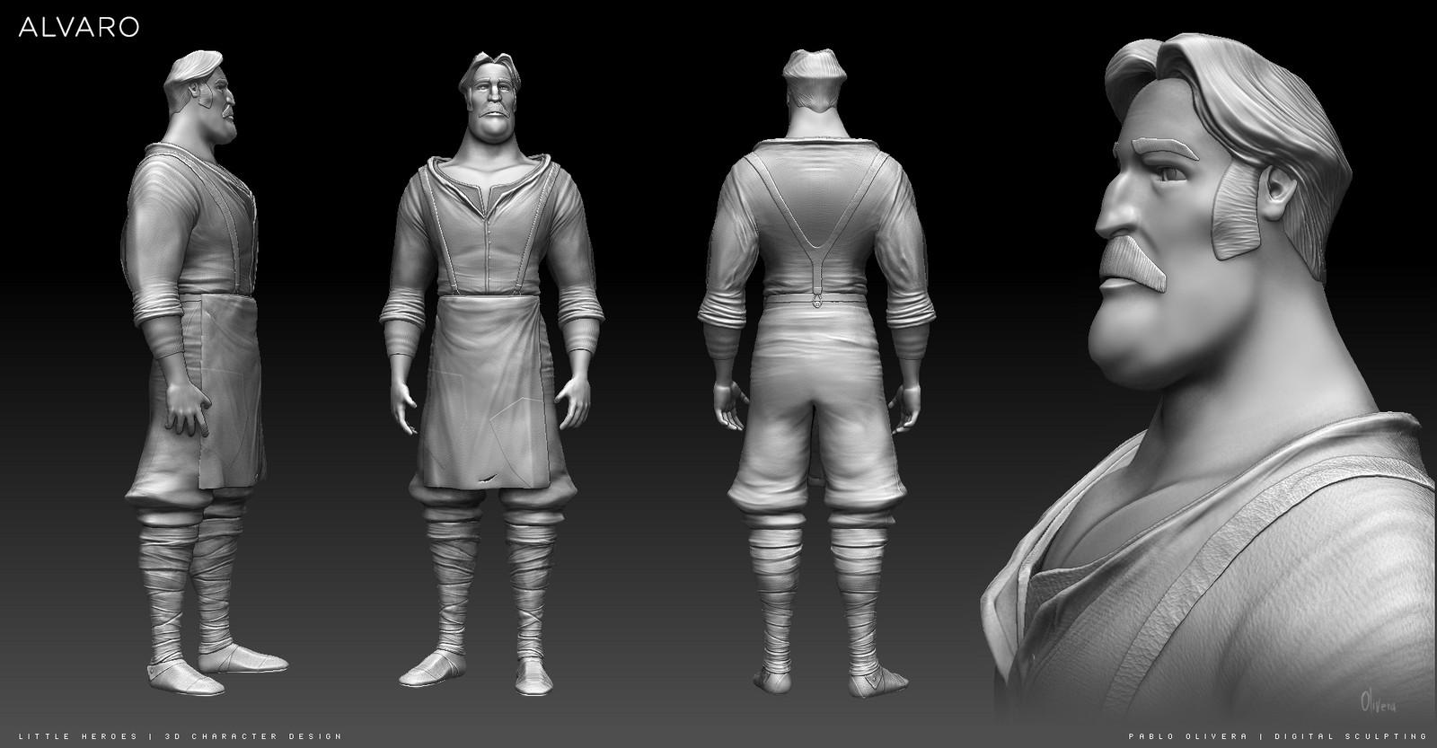 Alvaro ( 3d character modeling / sculpting )