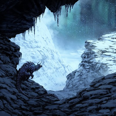 Eben schumacher mountain dragon no border
