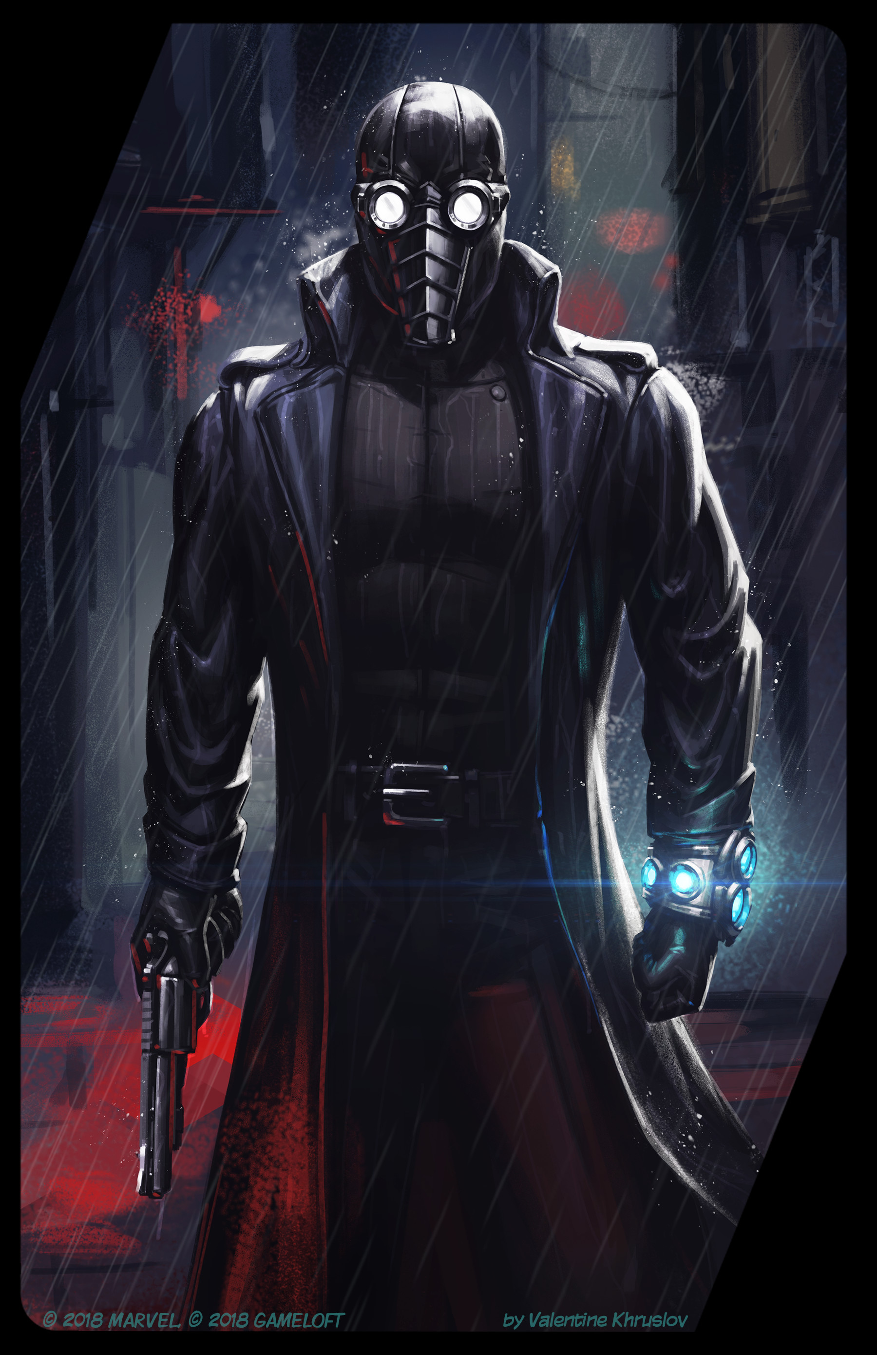 Artstation spider man noir valentine khruslov - Spiderman noir 3 ...