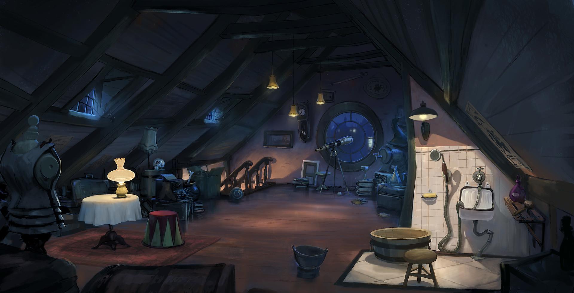 Joeri lefevre attic color4