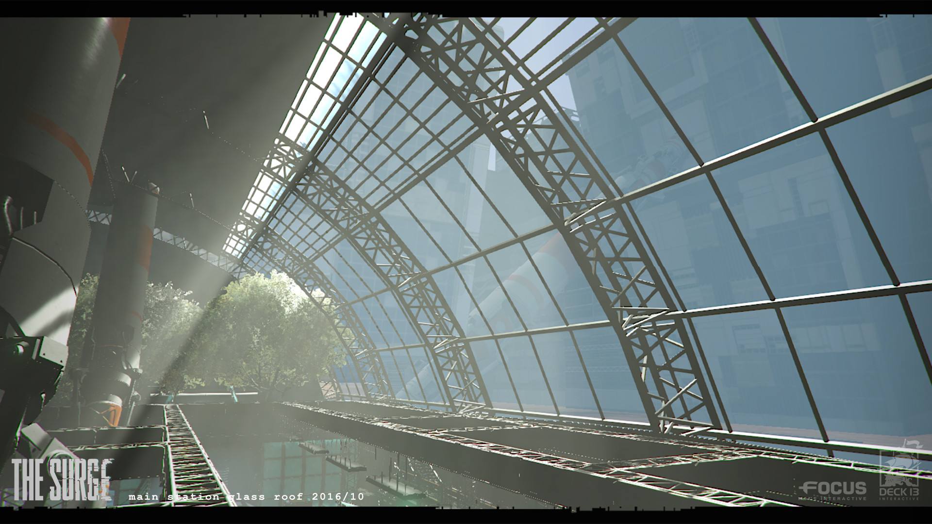 Lukas kuhn main station glassroof game