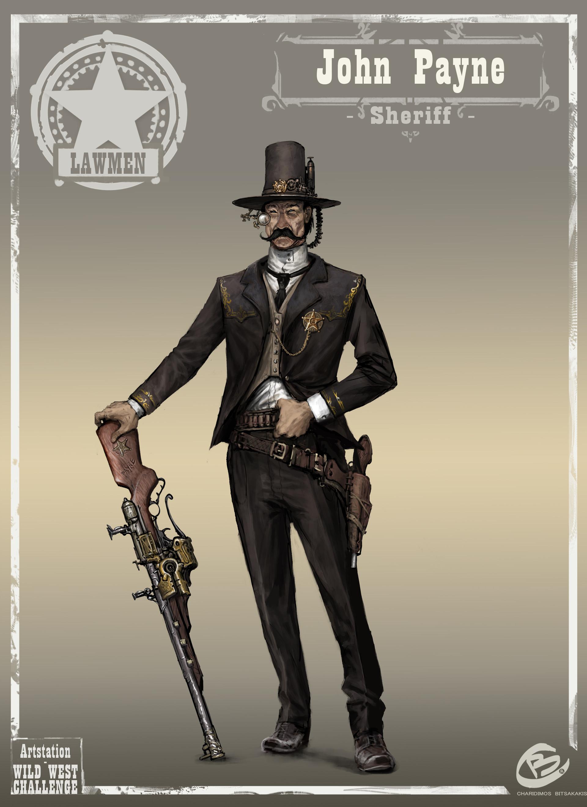 Lawmen - John Payne (Sheriff)
