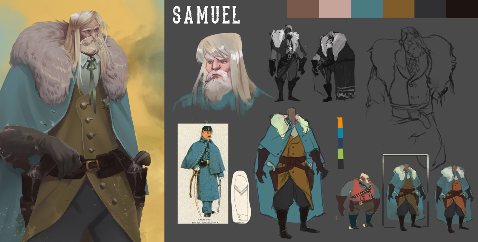 Part of the process followed to design Samuel.