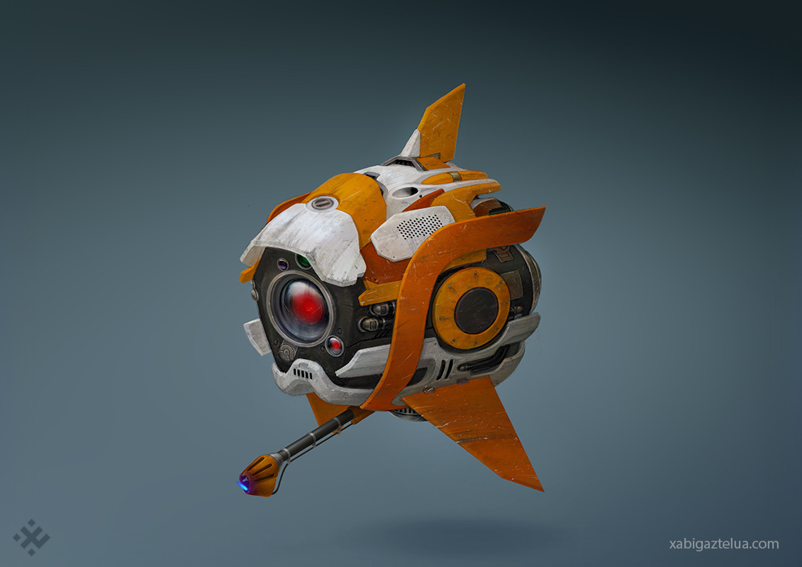 Xabi gaztelua combat drone low