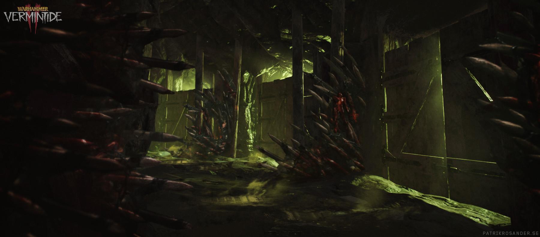 Patrik rosander mines chaos altar troll door paintover