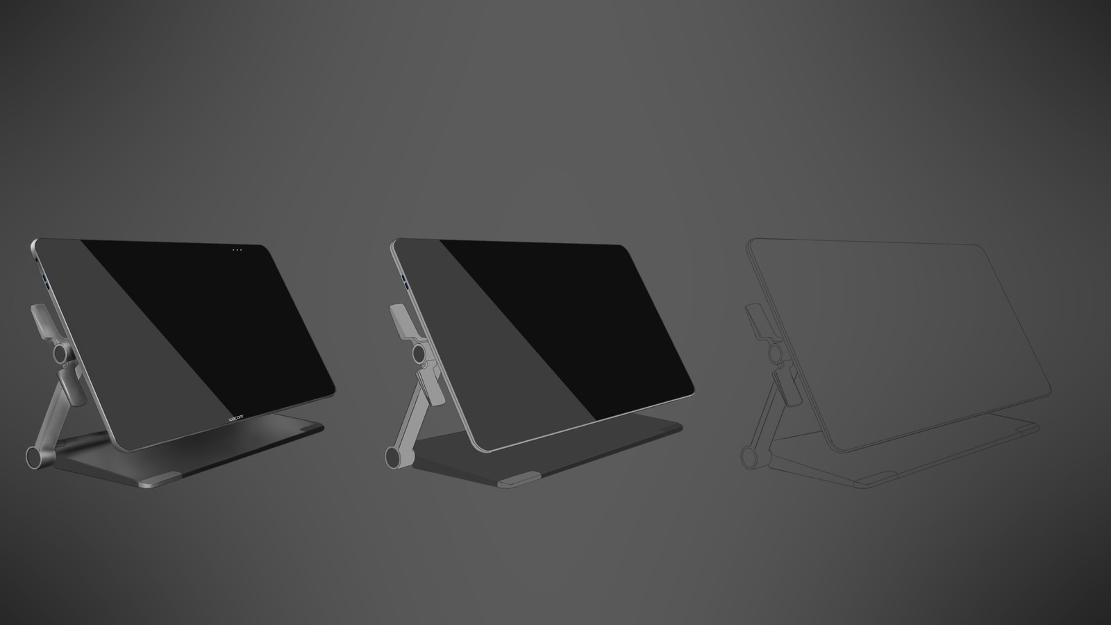 Illustration of Wacom Cintiq 27.