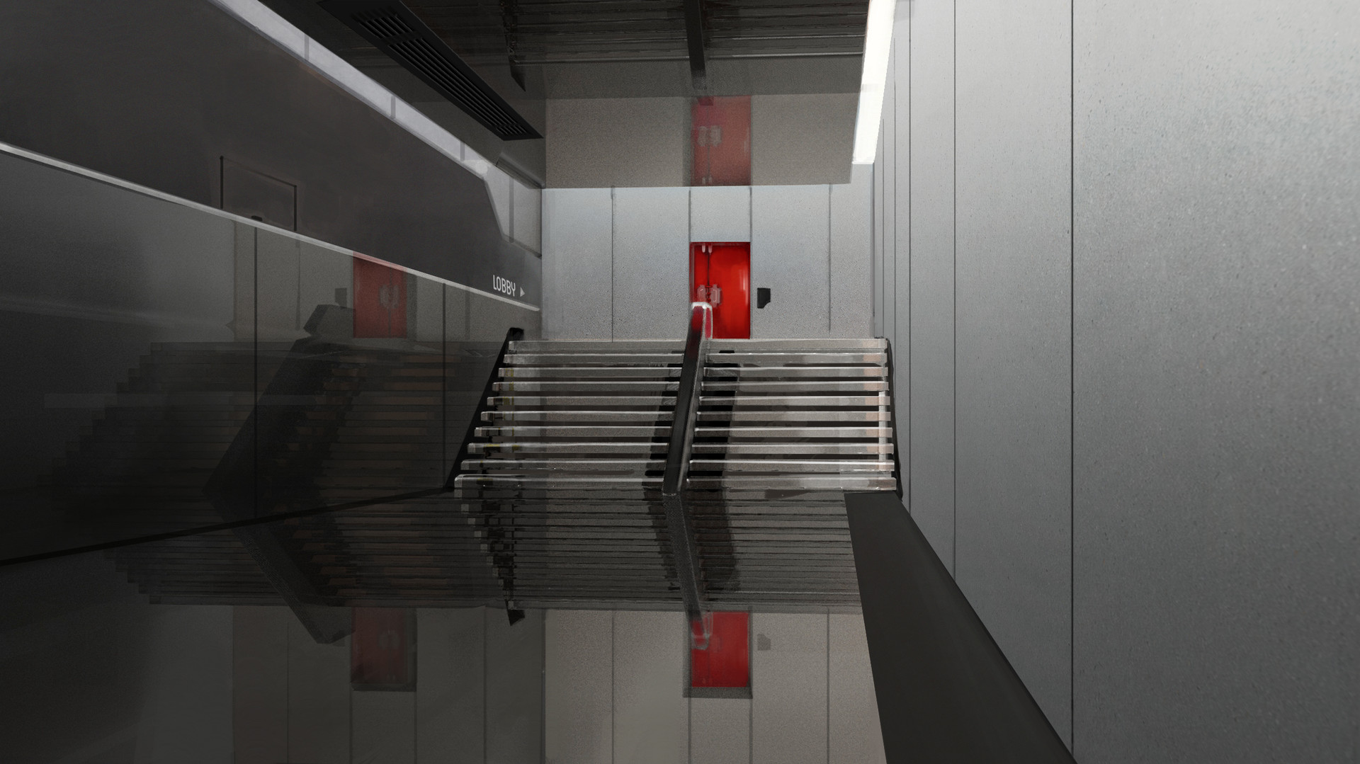 Marina ortega red door corridor marinaortega the forest