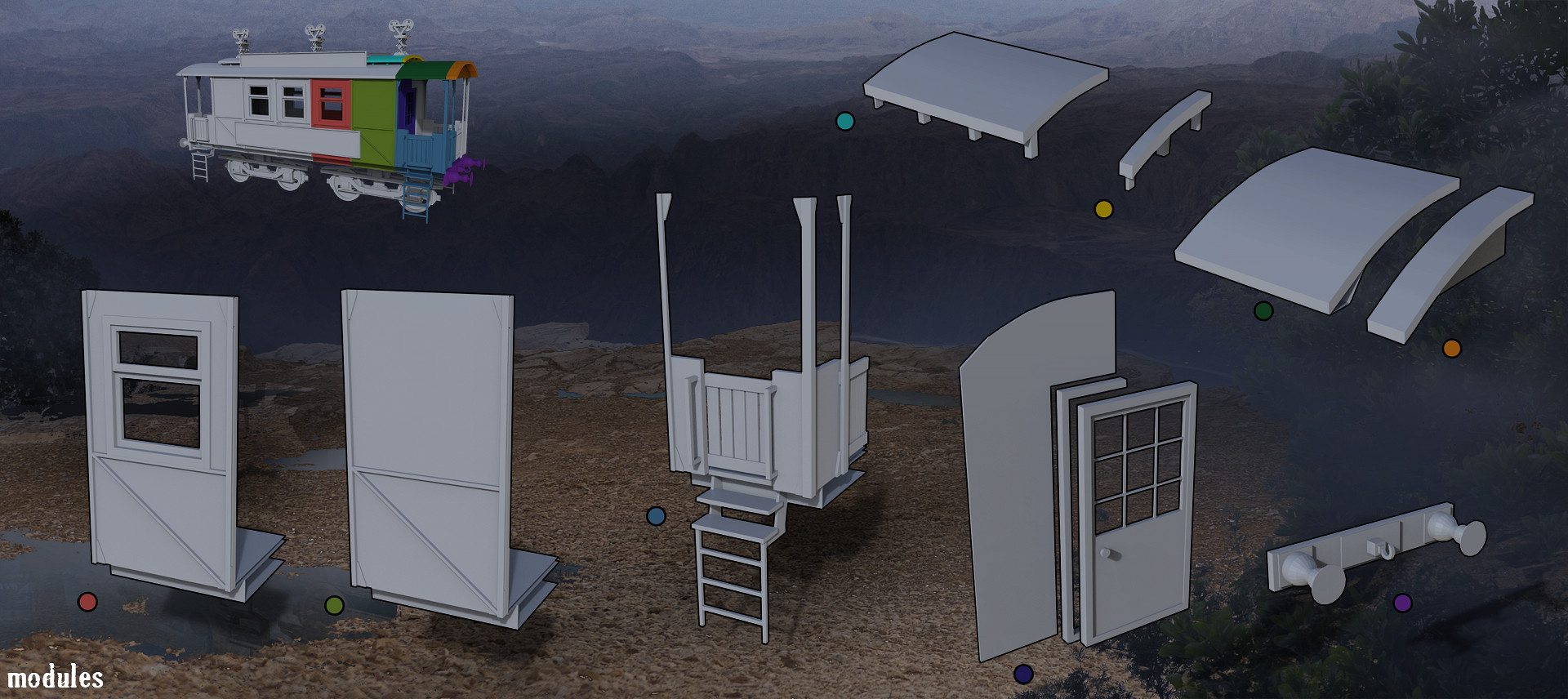 Alisher mirzoev cart modules