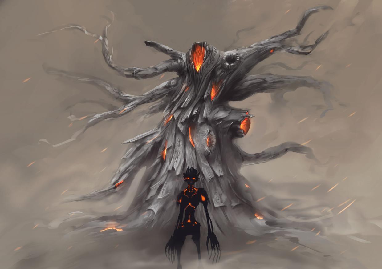 The ashen oak