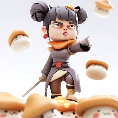 Yanal sosak mushroom queen final