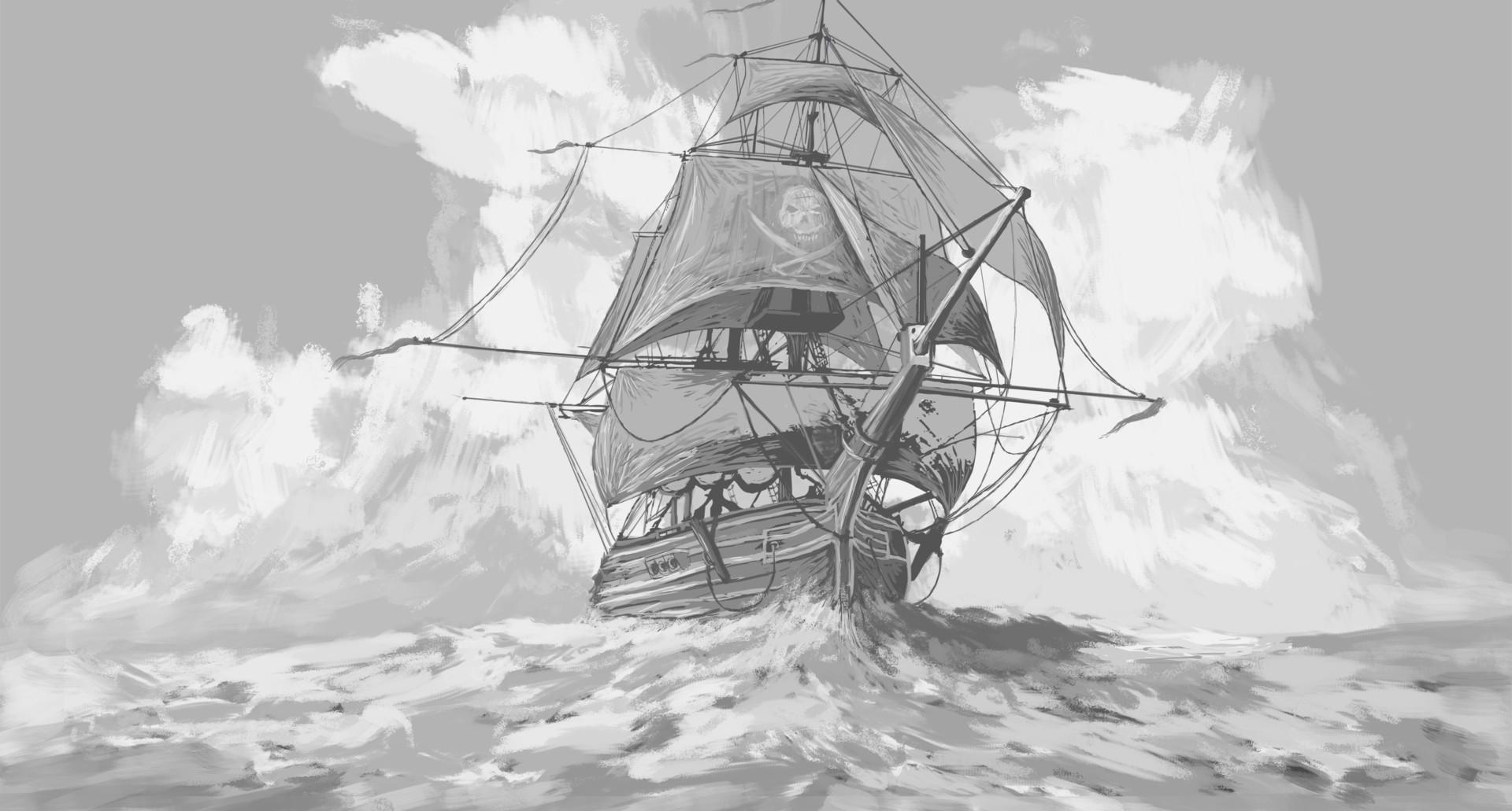 Martin seidl fancy pirate ship first