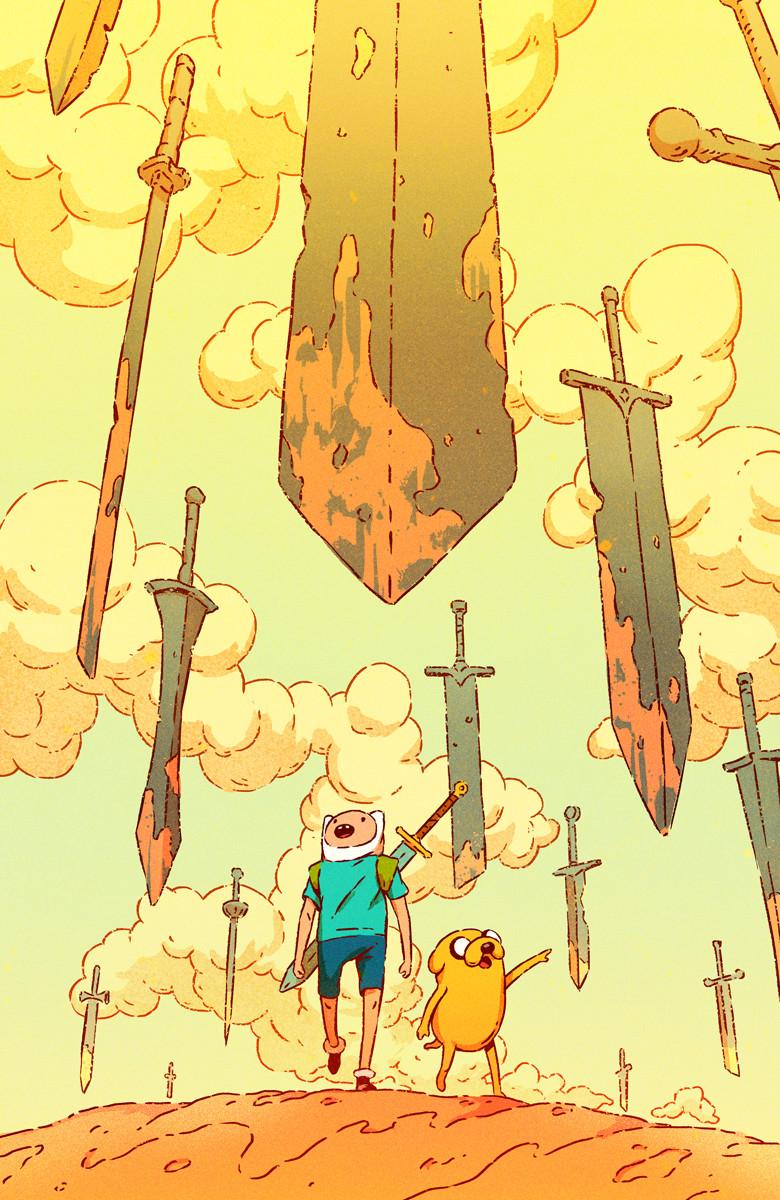 Artstation Adventure Time 75 Subscription Cover Pius Bak