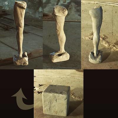 Surajit sen human leg quick sculpt surajitsen insta