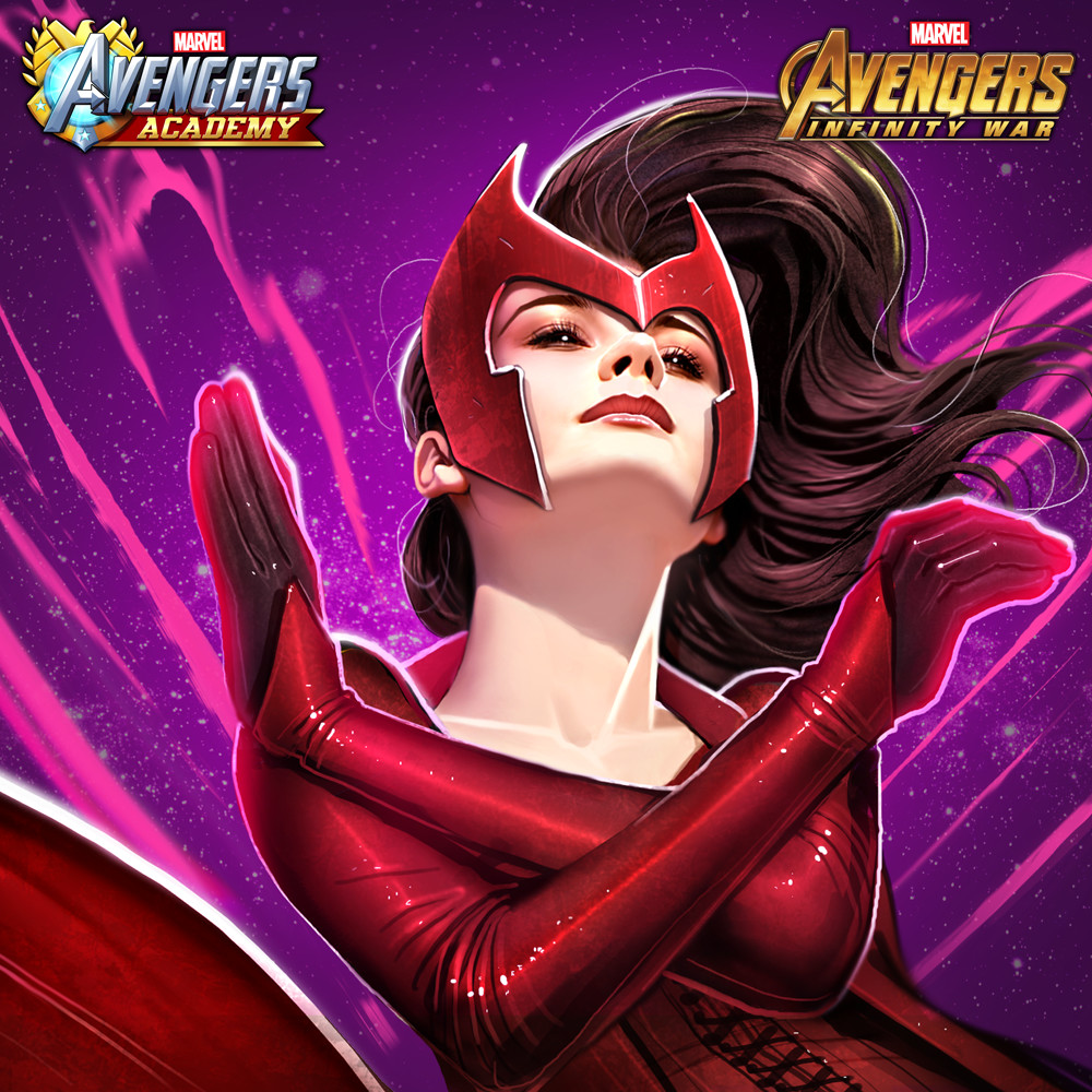 Scarlet Witch detail